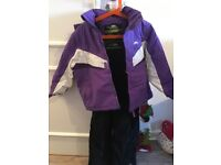 Girls Trespass Ski Jacket and Salopettes £18