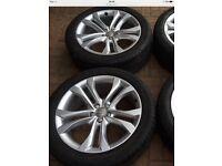 "4 Audi Q5 SQ5 Genuine 20"" alloys"