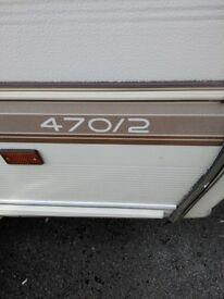 Swift 470/2 Caravan Spares Or Repair