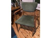Mid century modern retro vintage armchair/wooden chair