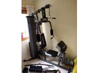 Maximuscle home gym plus accessories