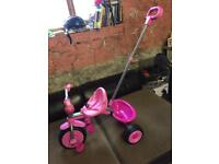 Little girls trike
