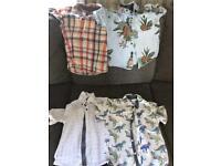 3-4 years boys summer shirts