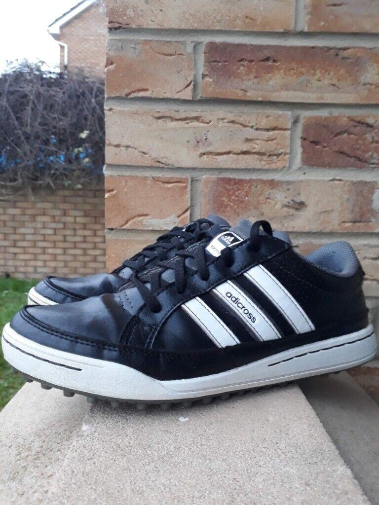 Adidas Adicross Iv Junior Golf Shoes Black (UK size 5)     FREE Postage      Good Condition (Used) c275297a1cb