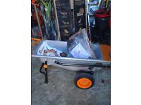 WORX Aerocart 8-in-1 All Purpose Lift/Carrier And Mover Wheelbarrow