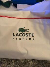 Brand new Lacoste hold-all