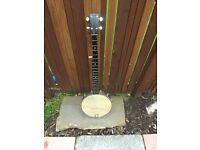 Savannah 5 string open back banjo