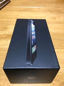 Apple iPhone 5 boxed with extras.