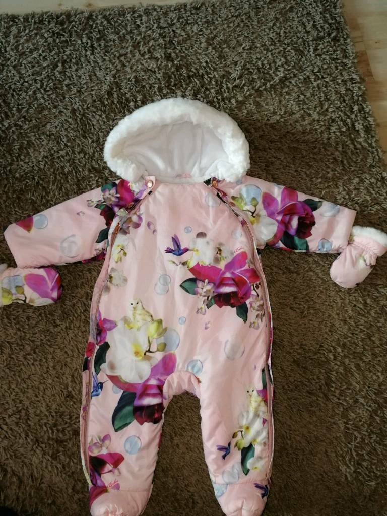 Baby ted Baker snowsuit