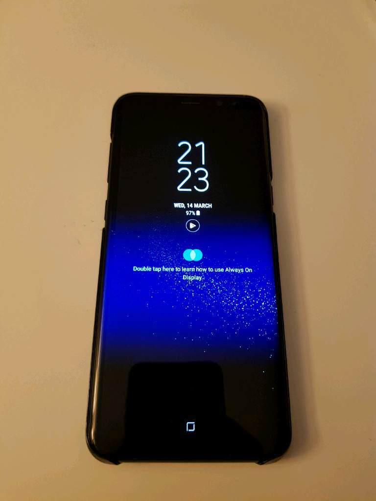 S8 Plus Black Unlocked Sale / swap