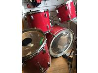 Red Hohner Drums