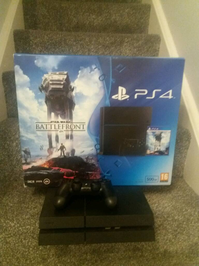 500GB Sony PS4 and 6 Games