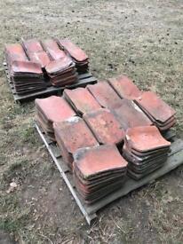 Flat norfolk pan tiles