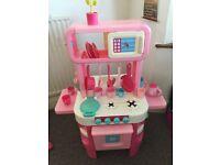 Pink ELC kitchen 360