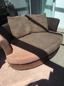 Free Two Seater Cuddle Sofa