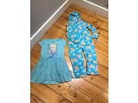 Frozen bundle sleeping onesie and nightie