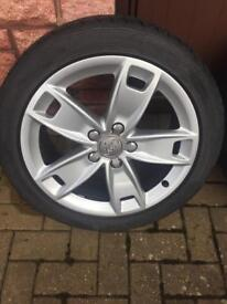 Audi A3 Sport 17 Alloy Wheels and Tyres