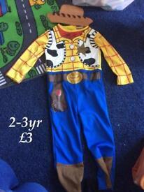 Woody dress up fancy dress