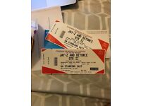 Beyonce and Jay-Z East Facing Standing Tickets x2 - Cardiff Principality Stadium 6th June 2018