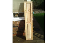 Pine wood doors (2 and 6 panelled)