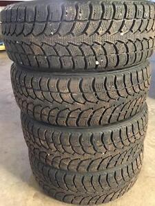 Set of 195/60R15 winter tires