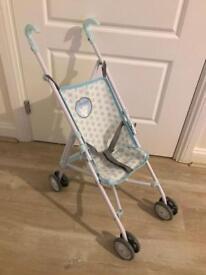 Elc cupcake Stroller blue foldable