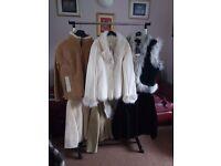 6 short coats size 16 - 18