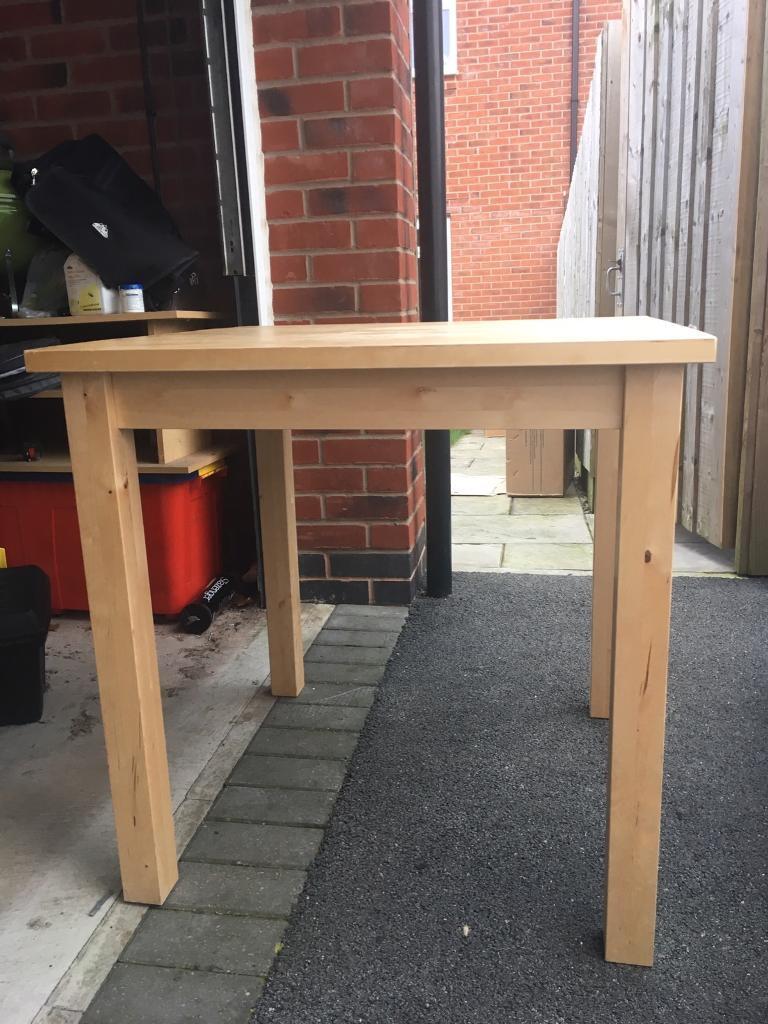 4 Person Kitchen Table Ikea 4 Person Kitchen Table Great Condition In Coalville