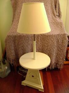 Retro lamp table