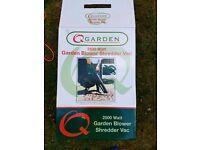 Garden leaf blower in box