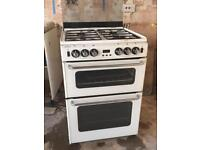 NEW WORLD Newhome Gas Cooker - White