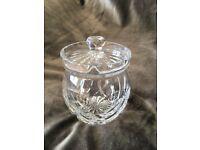 Cut Glass Jam or Preservative Jar