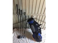 High Quality Set of Junior Golf Clubs and Bag. Wilson ProStaff JR
