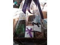 Hampers, gluten free and all sourced and made in norfolk