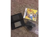 Black Nintendo DS Lite with Simpsons