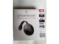 Google Chromecast Latest Version (Brand New Sealed )