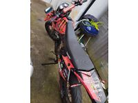 Lexmoto adrenaline 125cc 16 plate