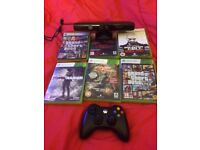Xbox 360 controller Kinect + games