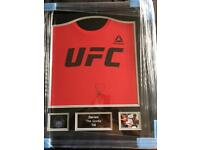 Darren Till Genuine signed, framed UFC Tshirt