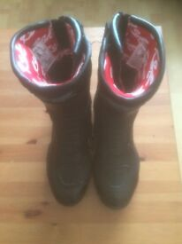 FOR SALE Ladies RST Raptor Motorcycle Boots Size UK6