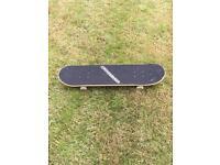 Girls skateboard & helmet