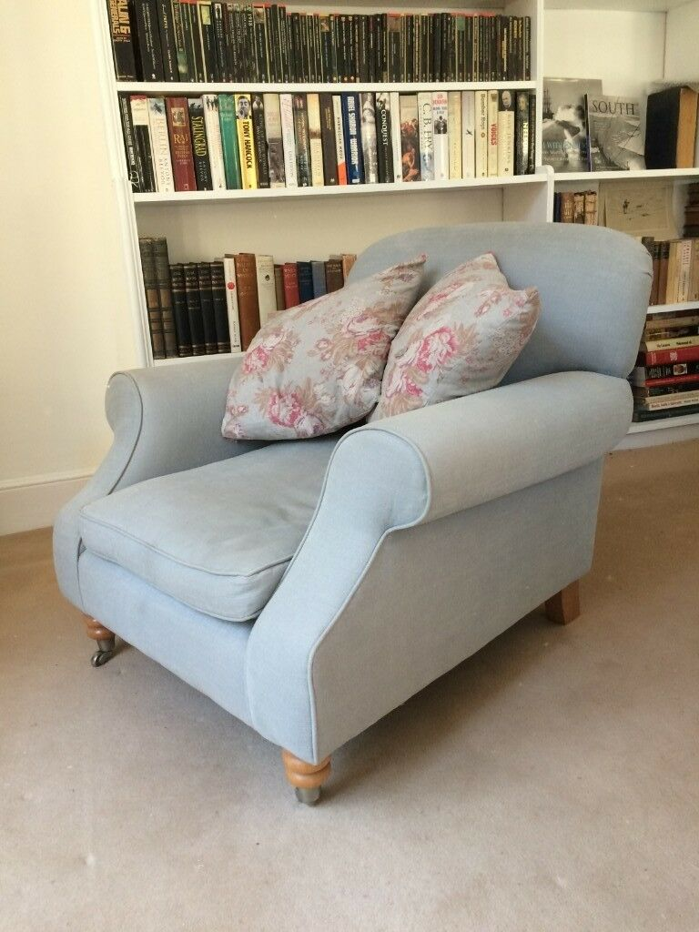 Habitat armchair in good condition with 'Cabbages and ...