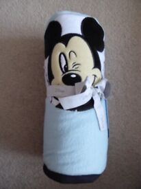 Brand New Mickey Mouse Baby Blanket