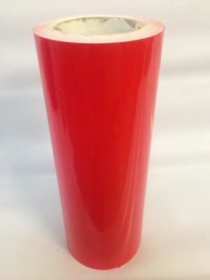 Red Glossy Vinyl 24 X 50 Yards Plotter Cutter Liquidation Best Deal Red
