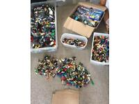 Lego Over 12kg Brick's & 100's of Minifigures lots RARE :)
