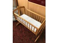 Baby swinging cradle/ crib/ baby bed