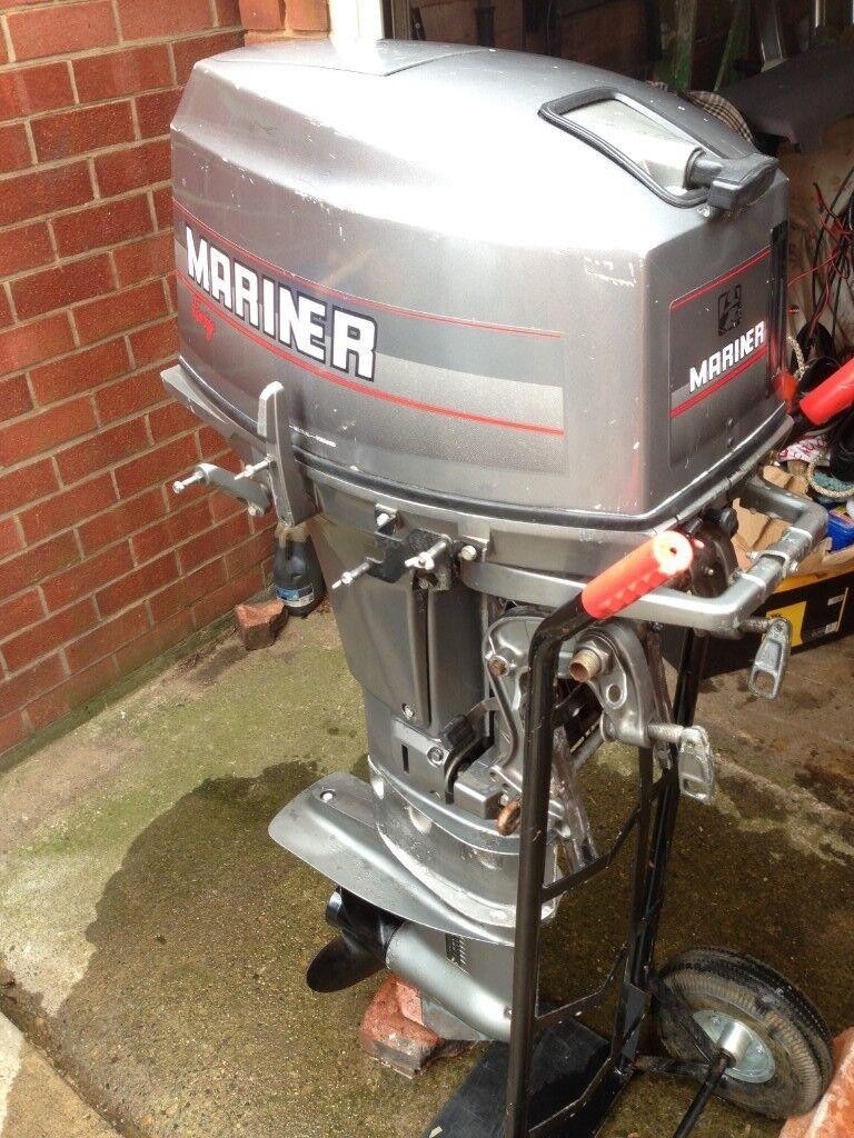 Mariner Longshaft Outboard Engine 40 Horsepower 2 Stroke