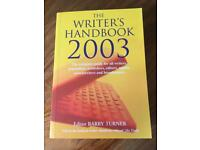 The Writer's Handbook BRAND NEW