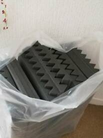 Acoustic Sound Dampening Pads for Music Studios or Streamers