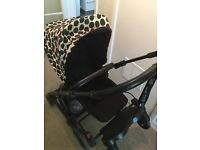 Dalmatian mamas & papas pushchair